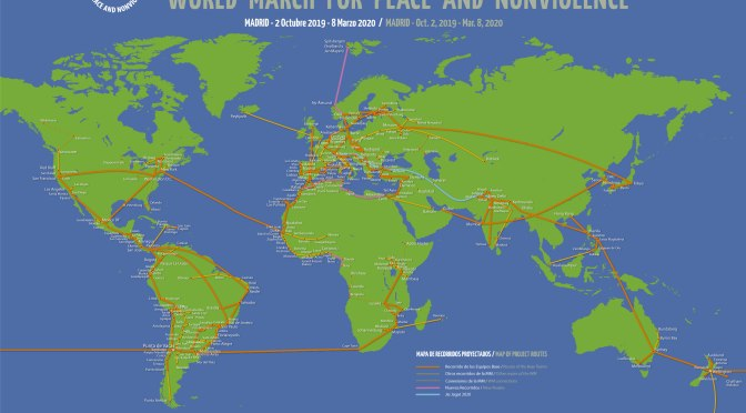 Marcha Mundial por la Paz y la Noviolencia